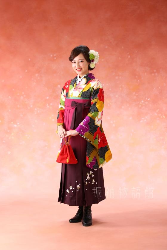 振袖物語館松戸店の卒業袴のフォトプランです。