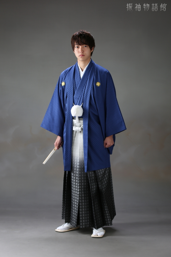 振袖物語館松戸店の成人男性フォトプランです。